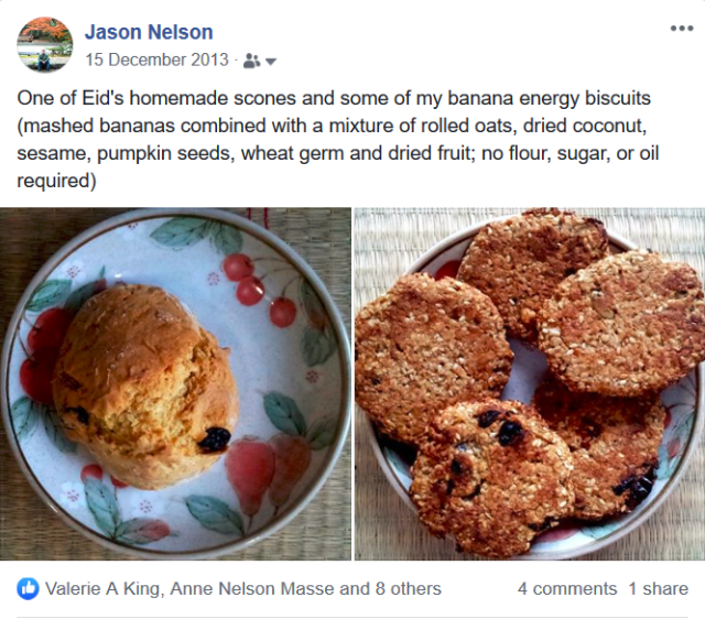 Screenshot_2019-05-15 Jason Nelson - One of Eid's homemade scones and some of my banana